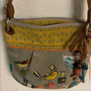 Fossil Little Birds Crossbody purse in VGC